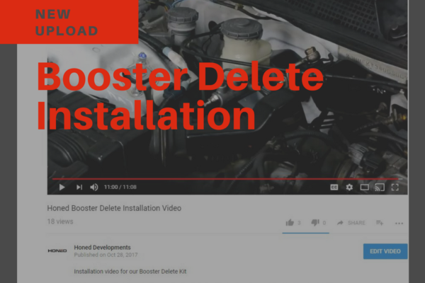 new upload booster delete install video